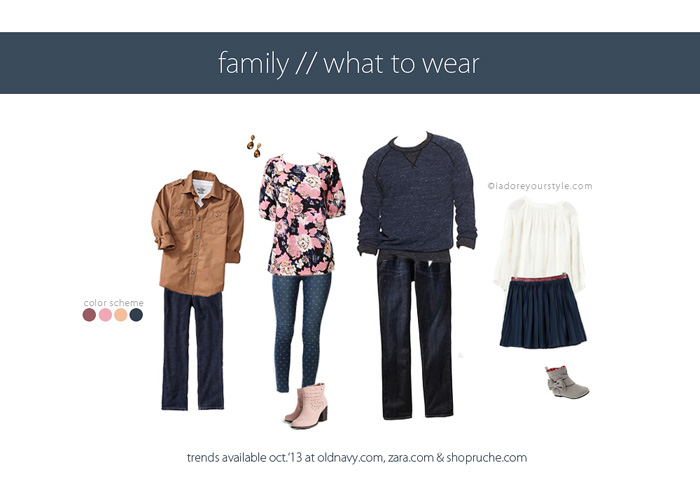 October Family What to Wear