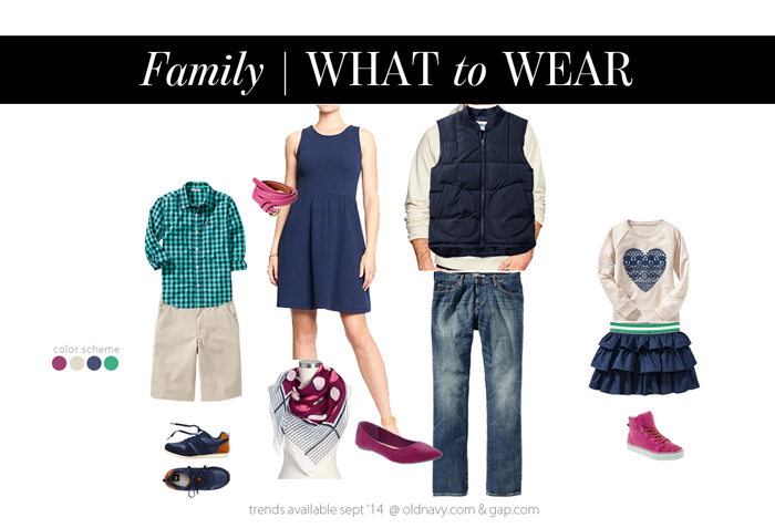 Family What To Wear